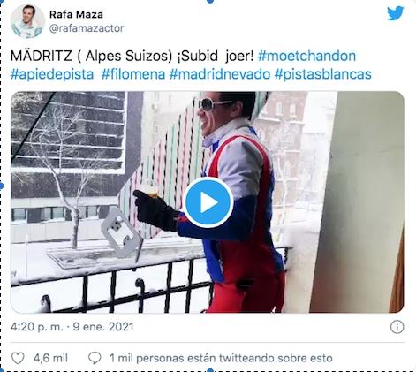 Fabiolo se hace viral gracias a Filomena